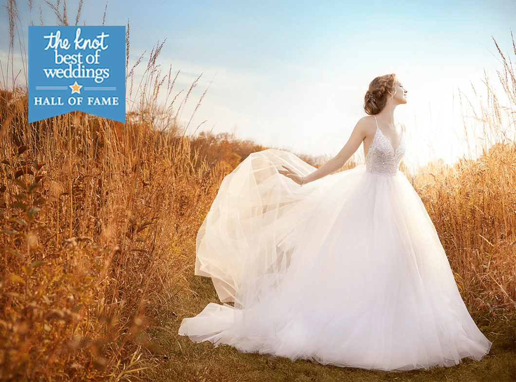 The Knot's Best of Weddings Hall of Fame